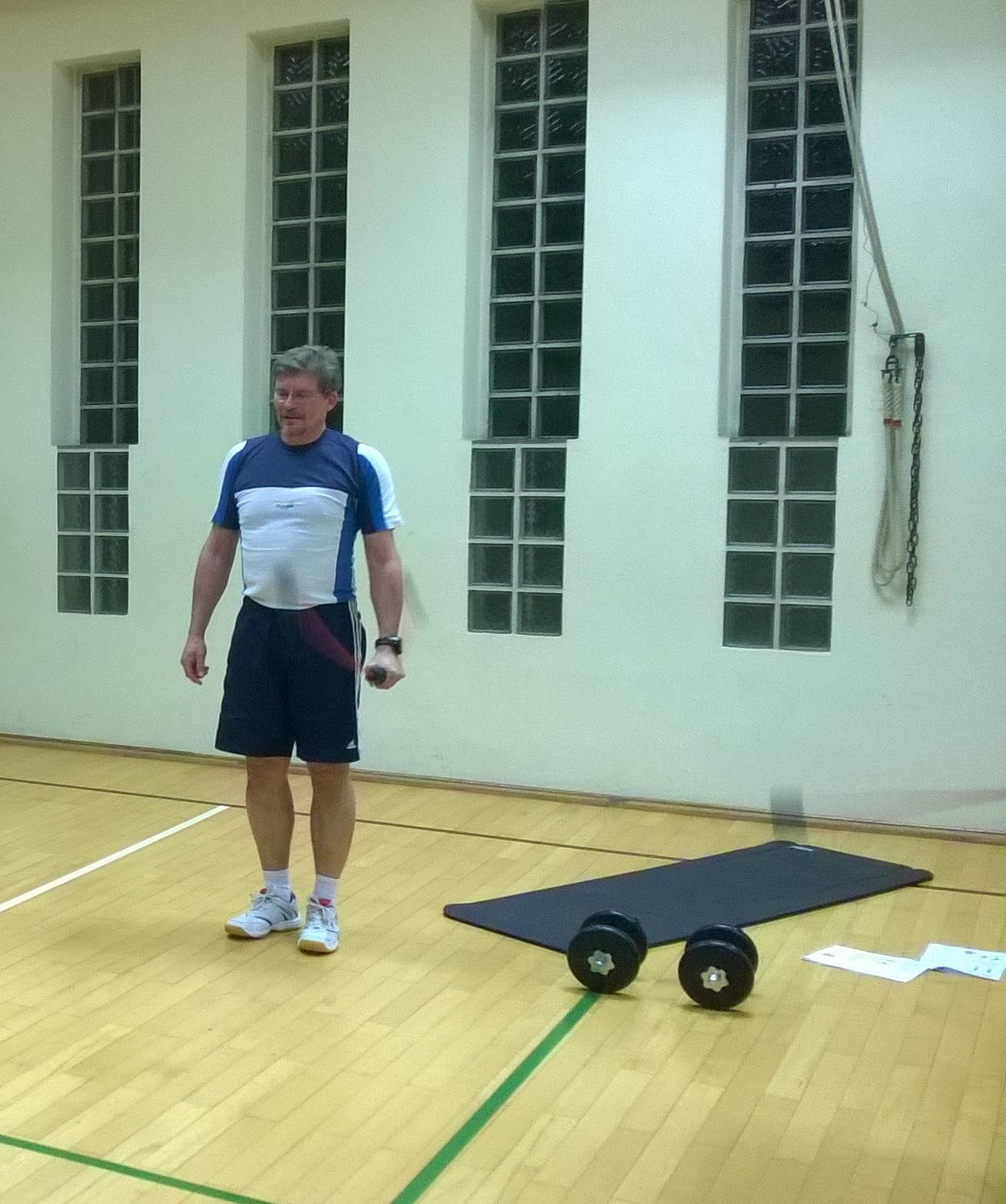 Training mit der Flexibar